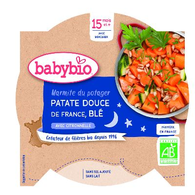 ASS. PATATE DOUCE BLE 260G