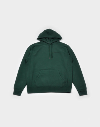 Still Independent: Green C Print Hoodie