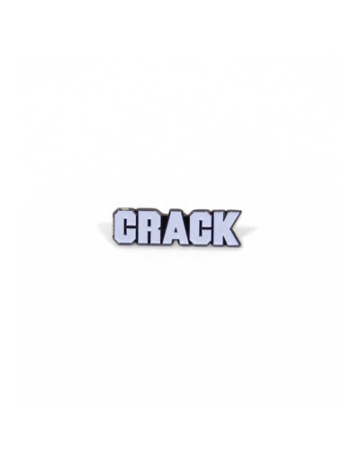 Crack Pin Badge
