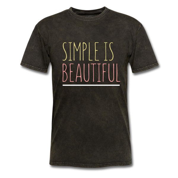 Simple Is Beautiful T-Shirt-iDesign Co