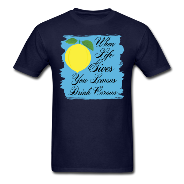When Life Gives You Lemons Drink Corona T-Shirt-iDesign Co