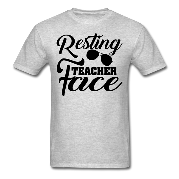 Resting Teacher Face T-Shirt-iDesign Co