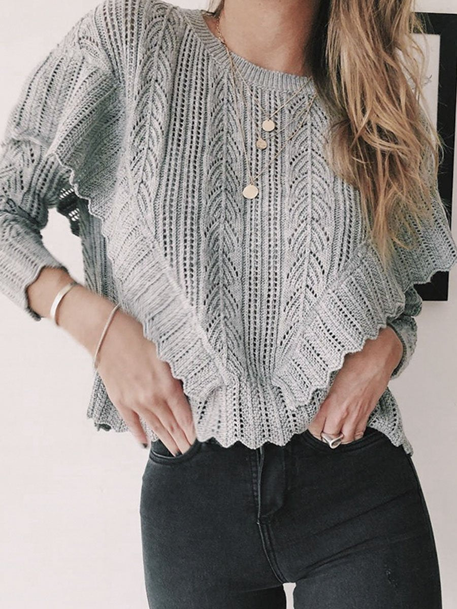 Women Autumn Winter Knitted Sweaters Fashion