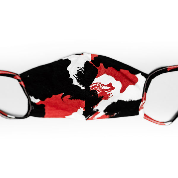 Cubre bocas - Red Camouflage Little N safe 2