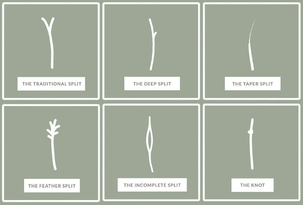 The Common Types Of Split Ends