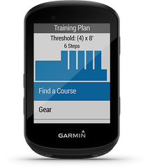 Advanced Workouts  on the Garmin Edge 530