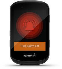 Bike Alarm on the Garmin Edge 530