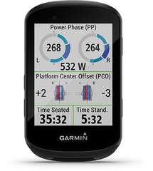 Cycling Dynamics on the Garmin Edge 530