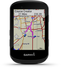 Garmin Cycle Map on the Garmin Edge 530