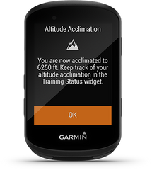 Heat and Altitude Acclimation on the Garmin Edge 530