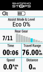 Shimano Steps eBike System with the Garmin Edge 1030