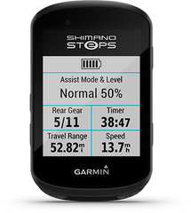 Shimano Steps eBike System Compatible with the Garmin Edge 830