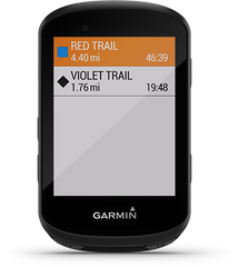 Trailforks App on the Garmin Edge 530