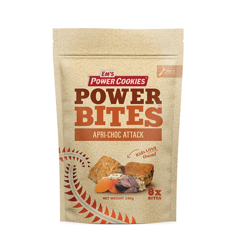 Apri-Choc Attack Power Bites - 8 Pack