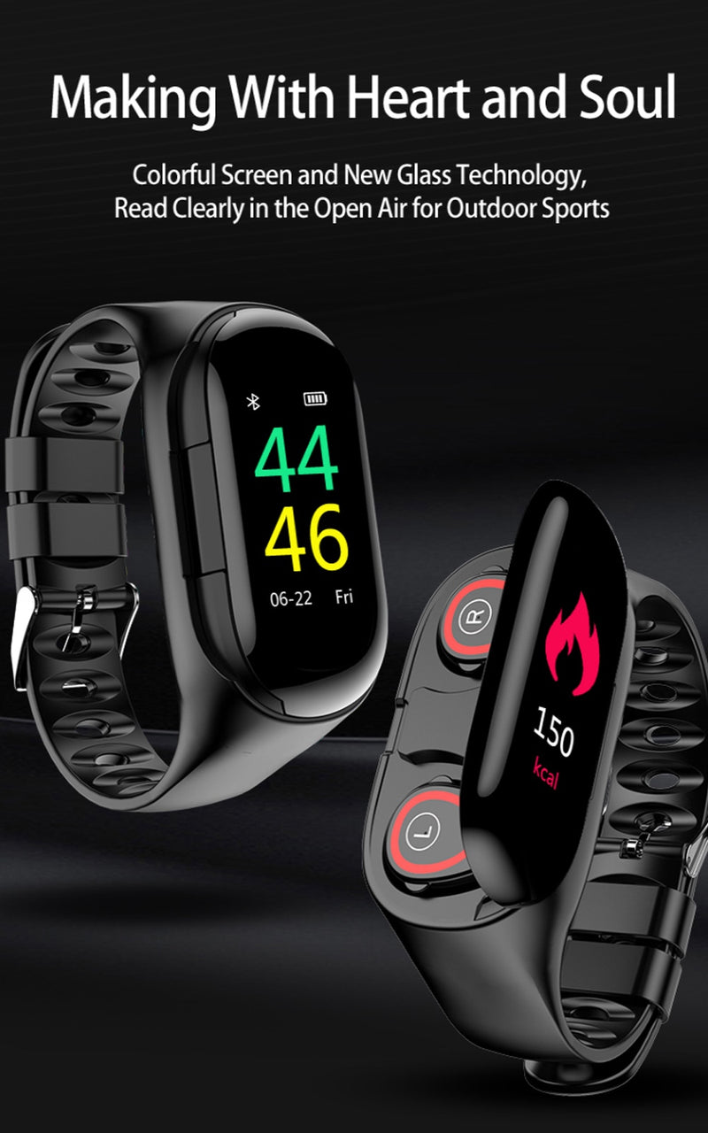 BluetoothEarbuds Sports Watch - BluetoothEarbuds