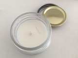 Sea Salt & Orchid scented Hand Poured Soy Candle