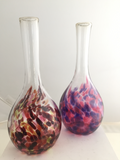 Mom's Bud Vase - Purple & Blue