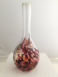 Mom's Bud Vase - brownish tones