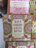 Black Currant & Olive Butter Shea Butter Spa Soap