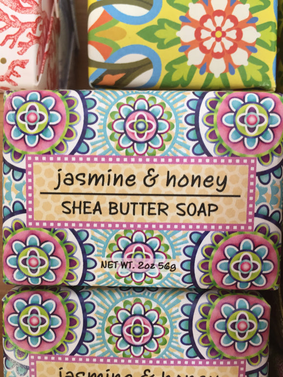 Jasmine & Honey Shea Butter Soap
