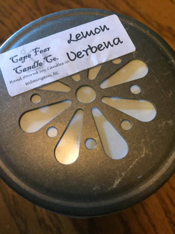 Lemon Verbena Hand Poured Soy Candle
