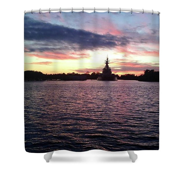 Battleship NC - Shower Curtain