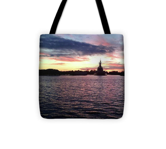 Battleship NC - Tote Bag