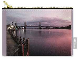 Cape Fear River at Sunset - Carry-All Pouch