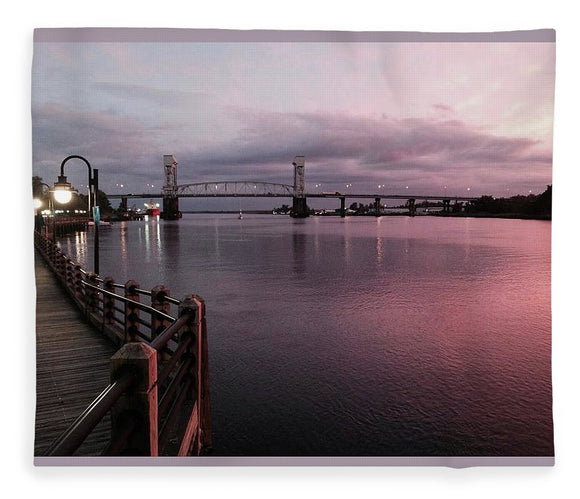Cape Fear River at Sunset - Blanket