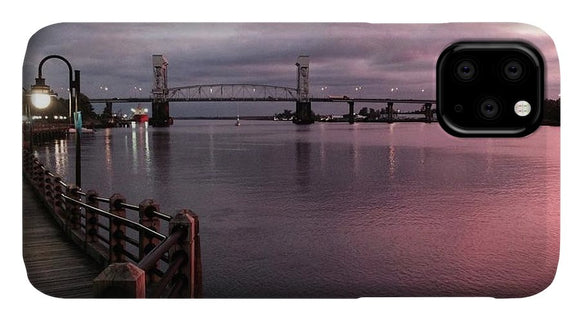 Cape Fear River at Sunset - Phone Case