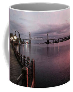 Cape Fear River at Sunset - Mug