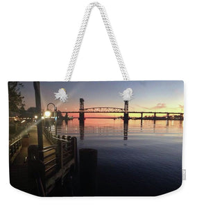 Cape Fear Riverwalk - Weekender Tote Bag