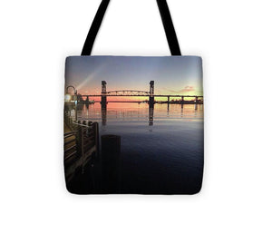 Cape Fear Riverwalk - Tote Bag