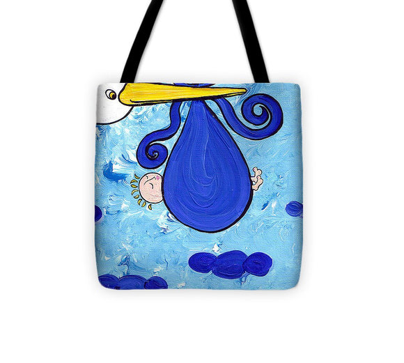 Happy Baby Boy - Tote Bag