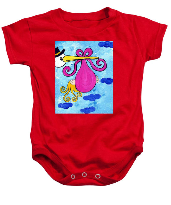 Happy Baby Girl - Baby Onesie