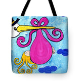 Happy Baby Girl - Tote Bag