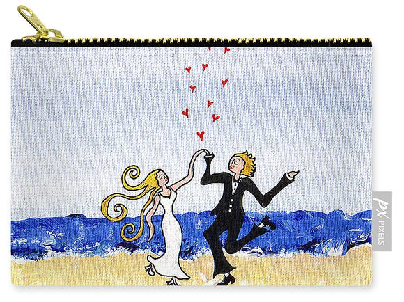 Happy Wedding - Carry-All Pouch
