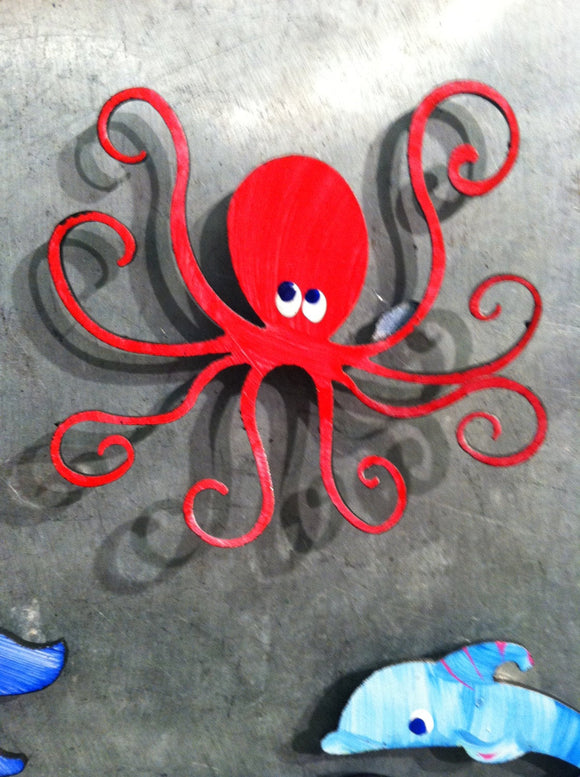 Magnets - octopus - Super Strong Hand Painted Magnet