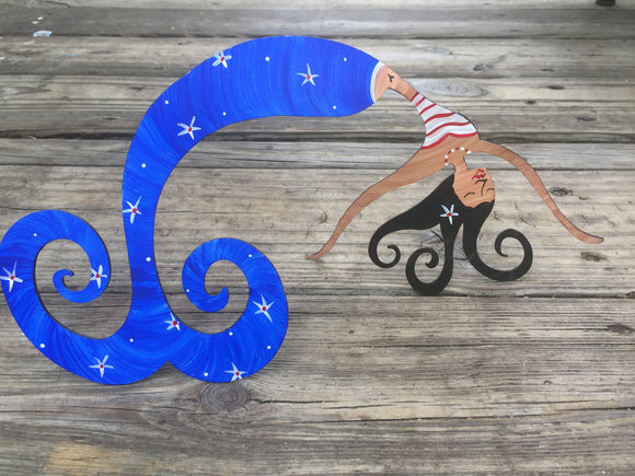 Star Spangled Mermaid