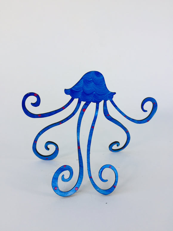 Jellyfish Steel Sculpture - Small (4