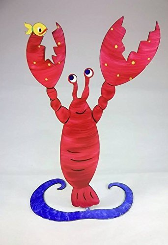 Lobster Steel Sculpture - small (4