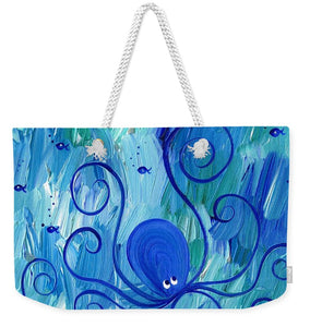Octopus Swimming - Weekender Tote Bag