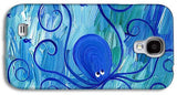 Octopus Swimming - Phone Case