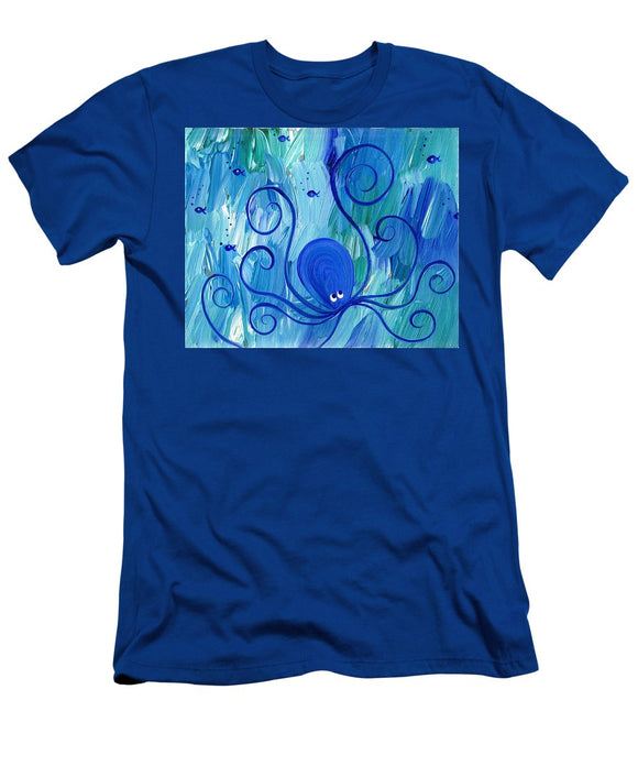 Octopus Swimming - T-Shirt