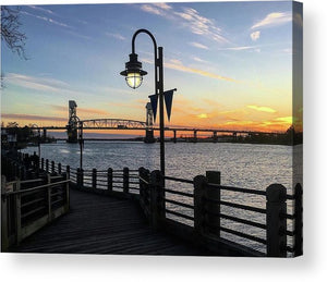 Sunset on the Cape Fear - Acrylic Print