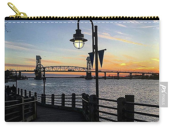 Sunset on the Cape Fear - Carry-All Pouch