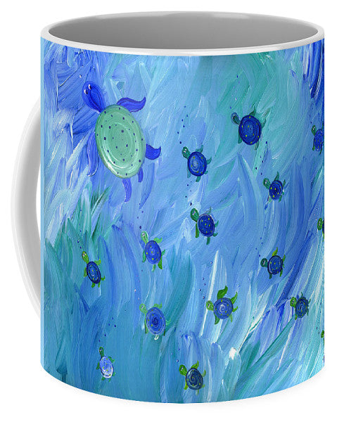 Swimming Turtles - Mug