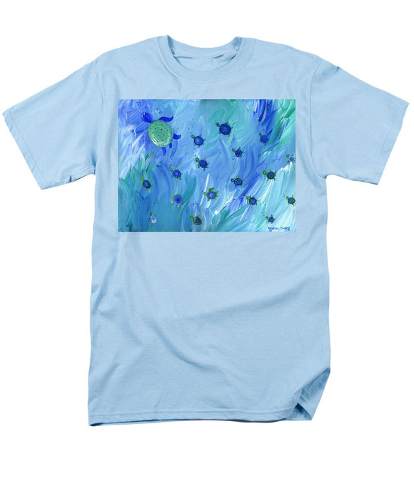 Swimming Turtles - Men's T-Shirt  (Regular Fit)