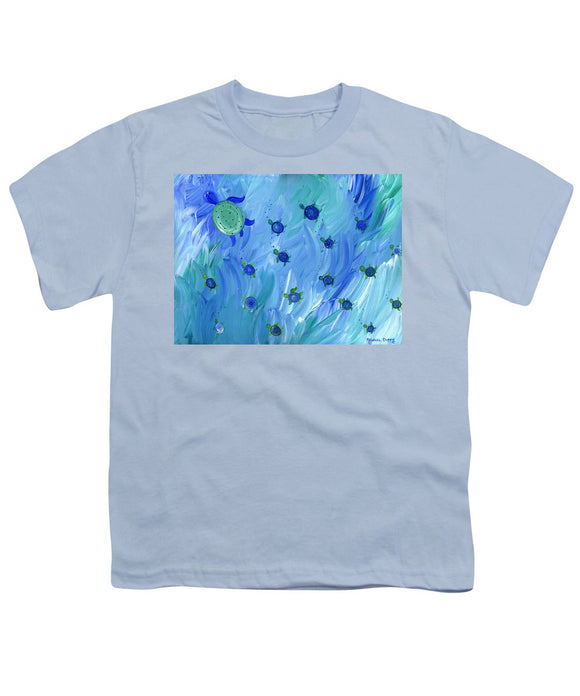 Swimming Turtles - Youth T-Shirt
