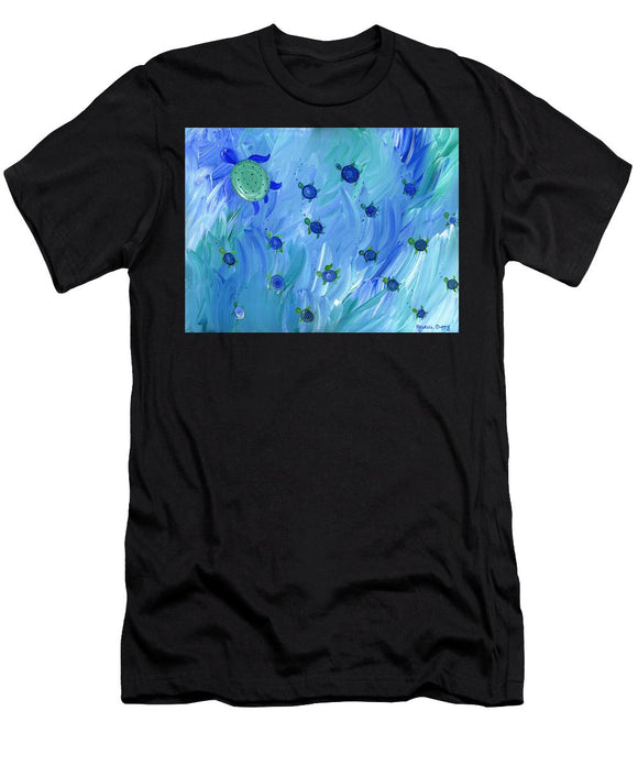 Swimming Turtles - T-Shirt